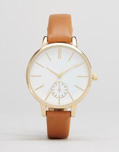 Image 1 ofNew Look Minimal Strap Watch