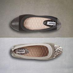 Instagram: Hannaa  #dune #dunelondon #shoes #flats #reptileprint