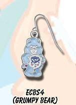 Care Bear Earrings -  Grumpy Bear