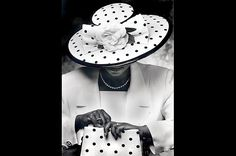 """Crowns: A Brief History of Church Hats  A Symbol of Success Hats also served as status symbols. """"Once you got up on your feet and started working, you bought some hats,"""" said boutique owner Audrey Easter, in Michael Cunningham and Craig Marberry's book, Crowns. Many women match their hats with their pocketbooks and gloves."""
