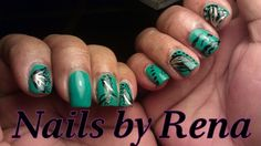 Freehand #handpaint nail art #painting #nailart #haute #hautenails #nails