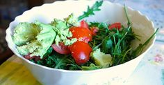 Enjoy this recipe for a delicious creamy kale salad with avocado and tomato from Alkaline 5 Diet author Laura Wilson: http://hottub.spabreaks.com/2015/05/recipe-creamy-kale-salad-with-avocado-and-tomato/