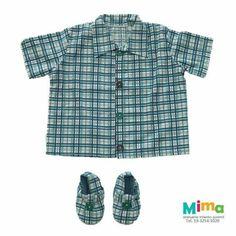 Camisa + sapato da Lola Marota, disponível aqui na loja!!