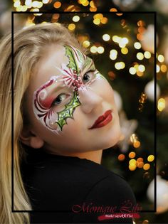 #xmas #christmas #facepainting #designs #holdidays #holidayseason #kerst #kerstfeest #kerstmakeup #kerstschmink #moniquelily #lilysfaces #amsterdam #schminkamsterdam #facepaintamsterdam #mehronmakeup #paradiseaqmakeup #mehroneurope markreidbrushes #love #fun #design #enjoy