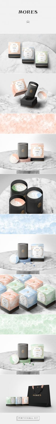 Mores Brand Signature Candle Packaging by Trin Oupkham | Fivestar Branding Agency – Design and Branding Agency & Curated Inspiration Gallery