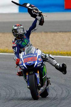 MotoGP 2015 - Jorge Lorenzo #99 - Winner of Spanish GP (Jerez).
