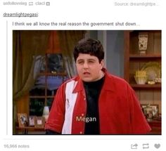 The Drake and Josh reference.   The Best Of The Internet's Response To The 2013 Government Shutdown