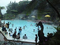 Jawa Tengah, Kolam Panas Guci Tegal: Guci Indah Tegal Tempat Wisata Keluarga