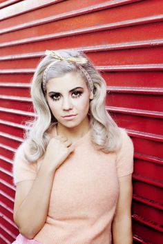 Marina and the Diamonds. My favorite female artist at the time. She basically writes songs about my life, in addition to sharing the same name as me.