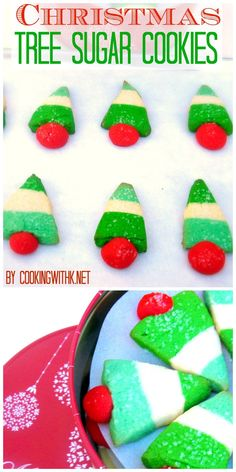 Cooking with K | Southern Kitchen: Christmas Tree Sugar Cookies  | 25 Days of Christmas