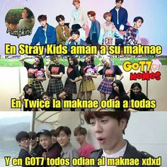 Read 157 from the story ~ GOT7 MEMES II ~ by litty_bitch (↳ Mᥲrkιᥱ Tᥙᥲᥒ ✧) with reads. Got7 Meme, Exo Memes, Funny Memes, Funny Shit, Yugyeom, Youngjae, Mark Jackson, Jaebum, Luhan
