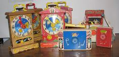 """My mother still has my wind-up music box that plays """"Raindrops keep fallin on my head!"""""""