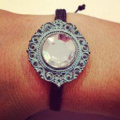 Macrame bracelet by AroundMyWrist on Etsy, 11.85