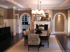 Image Result For Dining Rooms With Grasscloth Wallpaper