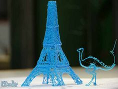 A 3D Pen that prints as you draw in the air. Amazing!