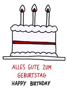 was my birthday a couple of weeks ago, i was too busy to draw this then. German Grammar, German Words, Learn English Words, German Language Learning, Language Study, Georgian Language, Study German, Germany Language, Idioms