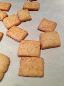 Gluten-Free Cheese Crackers very similar to the gf goldfish recipe, slightly different, going to give it a try.