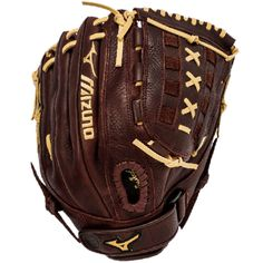 Mizuno Franchise Slowpitch designed specifically for slowpitch softball. Pre-oiled java leather maintains durability, and provides a soft, game ready feel Size: left-handed thrower. Custom Softball Gloves, Girls Softball Gloves, Baseball Gloves, Softball Stuff, Best Basketball Shoes, Basketball Goals, Basketball Court, Basketball Highlights, Slow Pitch Softball