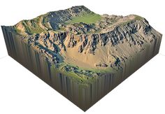 World Machine uses a procedural approach. Shape the terrain using basic building blocks such as fractals. then hit them with simulations of nature to create realistic features. Digital Elevation Model, Lykan Hypersport, 3d Mesh, Fantasy Map, Scan And Cut, 3d Prints, Layout, Photo Reference, Vacuum Forming