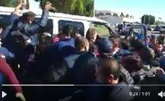 Manifestantes arremeten contra Kiko Vega, gobernador de Baja California | El Puntero