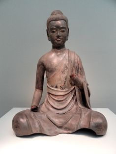 Buddha,_Sui_or_early_Tang_dynasty,_late_6th_or_early_7th_century_AD,_hemp_cloth,_lacquer,_wood,_metal_wire,_and_glass_with_traces_of_pigment_and_gilding_-_Freer_Gallery_of_Art