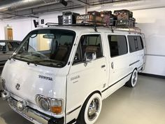 Classic Car News Pics And Videos From Around The World Airstream Campers For Sale, Camper Van, Toyota Hiace Campervan, Nissan Vans, Vw Variant, Toyota Van, Suzuki Carry, Corolla Hatchback, White Truck