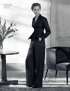 Jennifer Lawrence by Michael Baumgarten for Dior Magazine #3