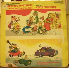 Children's Classic LP Great Big Mysteries Read by Carol Channing