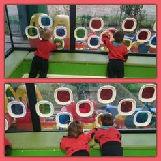 Mirant a través dels colors Baby Art Activities, Sensory Activities, Kindergarten Activities, Preschool Activities, Reggio Children, Toddler Classroom, Play Based Learning, Baby Sensory, Childhood Education