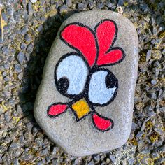 Rock Painting Patterns, Rock Painting Ideas Easy, Rock Painting Designs, Painted Rocks Craft, Hand Painted Rocks, Painted Pebbles, Rock Crafts, Arts And Crafts, Art Pierre