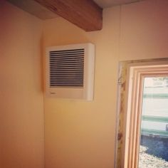 Bathroom Exhaust Fan Disears Into Wall When Not In Use Dare I Say It An Elegant Products Love Pinterest