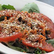 Yum! Must try!  Slug Slime on Los Bagels salad