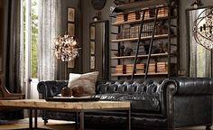 Scandinavian living room. | #livingroom #masculineinterior