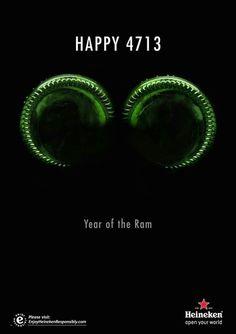 Heineken print ad