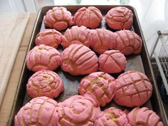 Pan Dulce...my favorite since I was a little girl! Time to make my own...