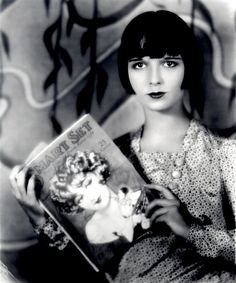 "Louise Brooks, who made the ""Dutch Boy"" bob (hair) so famous and iconic"