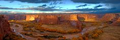 Canyon de Chelly National Monument in Arizona. The park features a visitor center, two rim drives, ten overlooks, and one public trail. The monument encompasses approximately 84,000 acres of lands located entirely on the Navajo Nation. Contact me to plan your trip to this beautiful monument!