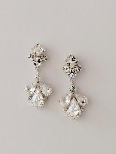 Crystal Jewelry, Crystal Earrings, Silver Jewelry, Fine Jewelry, Gold Jewellery, Silver Ring, Dangle Earrings, Statement Earrings, Dainty Earrings