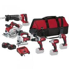 Milwaukee 18v 6pce Lithium Ion Cordless Combo-HD18PP6A-32
