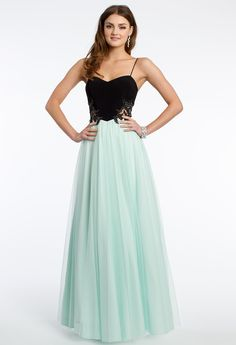 Two-Toned Tulle Prom