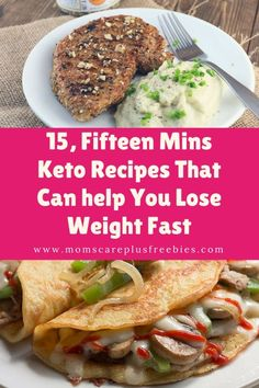 15, Fifteen Mins Keto Recipes That Can help You Lose Weight Fast
