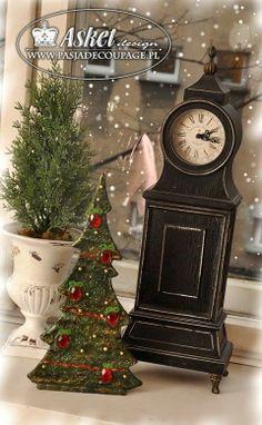 Victorian christmas tree, christmas decorations