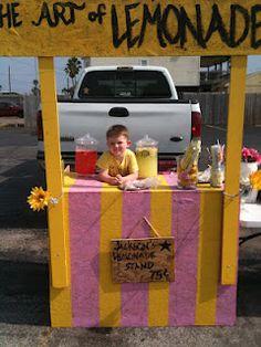 Galveston Lemonade Day!!!!