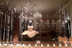 Vitrine Repetto - paris octobre 2009
