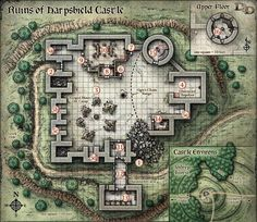 When we left our heroes they had just managed to get inside Harpshield Castle. A band of Orcs were currently camped in the castle and were likely to defend their position if challenged. The Half-Or…