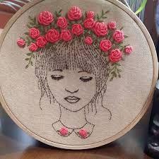 Výsledek obrázku pro pinterest embroidery
