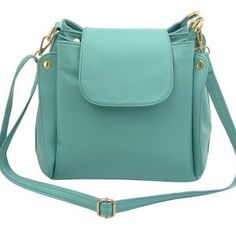 2ae117c7951d Buy Caprese Women s Teal Colored Faux Leather Sling Bag online in India at  best price.Faux leather material emerald colored sling bag 26 centimeters  height ...