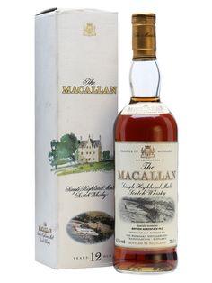 Macallan 12 Year Old / British Aerospace Jetstream Scotch Whisky : The Whisky Exchange