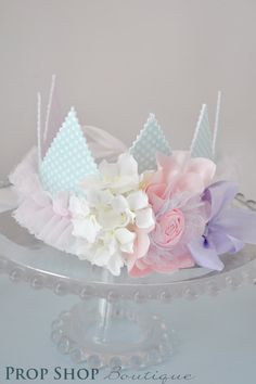 Princess Garden Shabby Chic Crown. $40.00, via Etsy.