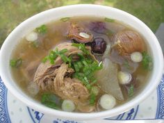 Winter Melon, Dried Oyster and Pork Rib in Soup